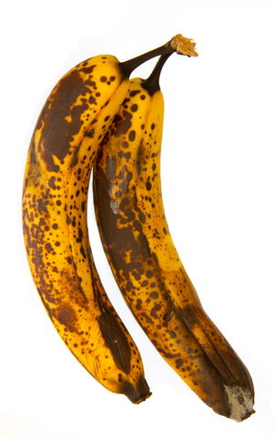 spoiled bananas