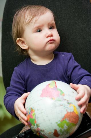 baby and world